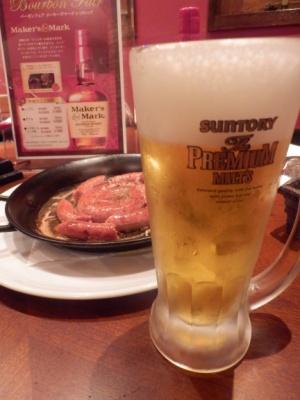 ソーセージ&プレモル(トリプル).JPG