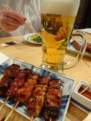焼き鳥&プレモルセット.JPG